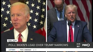 Poll shows lead over President Trump
