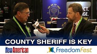 Sheriff Richard Mack: County Sheriff is Key to Restoring American Liberty | FreedomFest 2021
