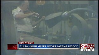 Master violin builder's legacy lives through his instruments