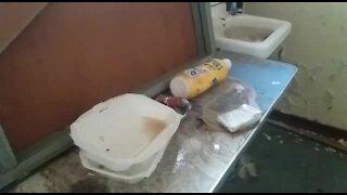 SOUTH AFRICA - Johannesburg - Homeless shelter (videos) (k9r)
