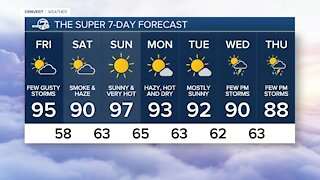 Thursday, Aug. 5, 2021 evening forecast