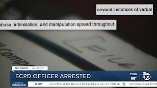 ECPD Officer Arrested