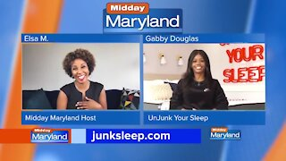 Un-Junk Your Sleep - Gabby Douglas