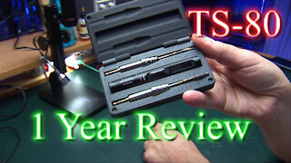 TS-80 Soldering Iron - 1 Year Review / Experiences - Bad Connector, bad tips