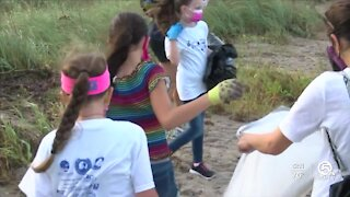 Volunteers gathering for International Coastal Cleanup Day on Saturday