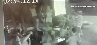 The D hotel-casino in downtown Las Vegas seeks group who vandalized Manneken Pis statue