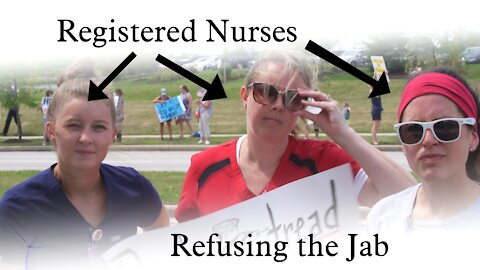 Healthcare workers refusing the vaccine