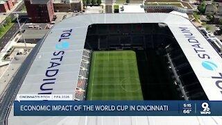 How would hosting FIFA World Cup games impact Cincinnati?