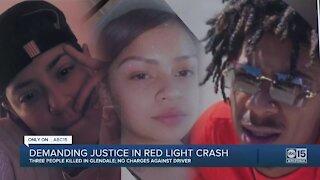 Alleged red-light runner kills 3 in Glendale, still no arrest