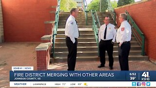 Fire district merging with other areas
