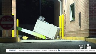 Attempted ATM heist in Cockeysville