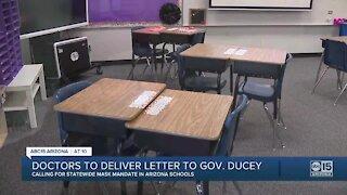 Doctors to deliver letter to Gov. Ducey