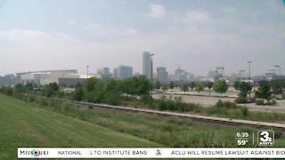 Wildfire smoke impacting air quality of metro area