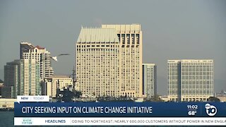 San Diego leaders unveil `'Our Climate, Our Future' initiative