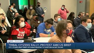 Tribal Citizens Rally, Protest Amicus Brief