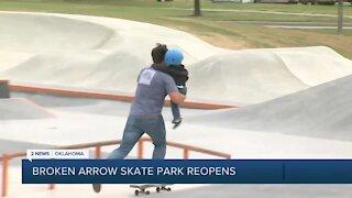 Broken Arrow Skate Park Reopens