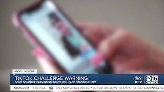 Valley schools warning parents of viral TikTok challenge encouraging theft, vandalism