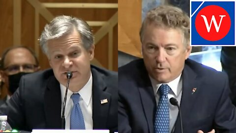 """""""We Have A Constitution!"""": Rand Paul TEARS Into Wray On FBI/FISA"""