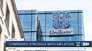 Companies struggle with inflation