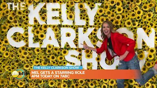 Mel Camp is on the Kelly Clarkson Show