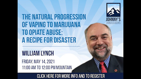The Natural Progression of Vaping to Marijuana to Opiate Abuse: A Recipe for Disaster