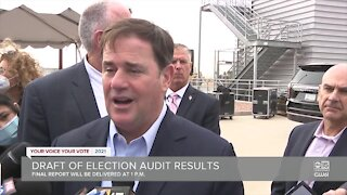 'Democracy can be messy', Governor Ducey says ahead of audit report