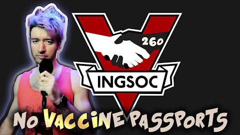 COVID COMMUNISM: VACCINE PASSPORTS ARE COMING – Johnny Massacre Show 260