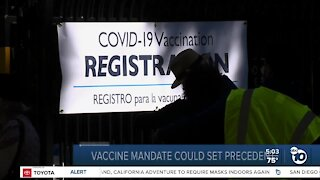 Some employers requiring COVID-19 vaccinations