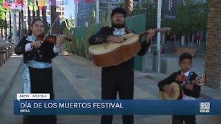This weekend: Dia de los Muertos festival at Mesa Arts Center