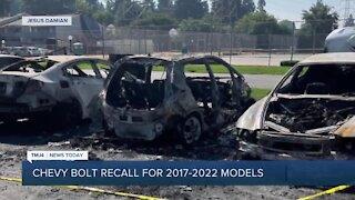 Chevy Bolt recall keeps expanding