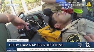Body camera footage raises questions