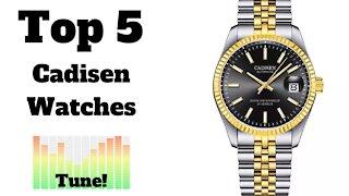 🏆 Top 5 Most Popular Cadisen Watches on AliExpress
