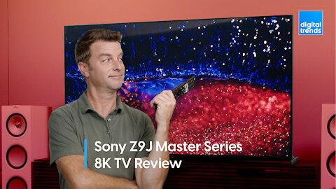 Sony Z9J Master Series 8K TV Review   Best LED TV Ever?
