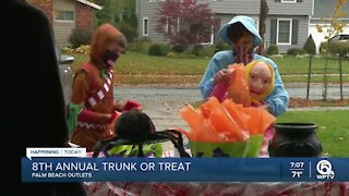 8th annual Trunk or Treat held at Palm Beach Outlets