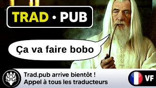 Trad.pub arrive bientôt ! 📢 Appel à tous les traducteurs et traductrices.