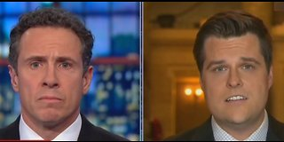 Chris Cuomo clashes with Matt Gaetz over illegal immigration and gun control