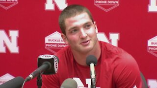 JoJo Domann speaks after Huskers drop 23-16 game at Oklahoma