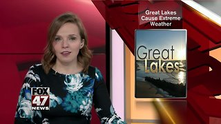 Great Lakes cause extreme weather