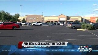 Phoenix homicide suspect arrested in Tucson