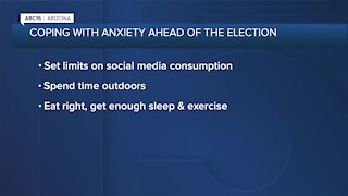 How to deal with anxiety ahead of election
