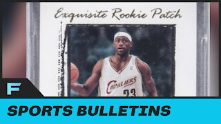 LeBron James Rare Rookie Card Sells For A RECORD BREAKING $1.8 Million Dollars At Auction