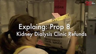 Proposition 8: Kidney Dialysis Clinic Refunds