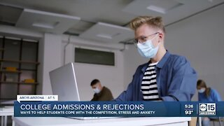 Helping students navigate college admissions and rejections