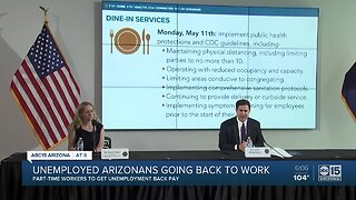 Unemployed Arizonans going back to work without unemployment back pay