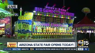 2019 Arizona State Fair opens Friday