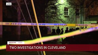 Teen injured at Cleveland housing project, police on scene
