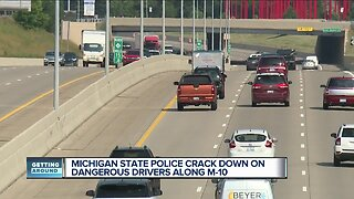 Michigan State Police crack down on dangerous drivers along Lodge Freeway