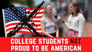 College students NOT proud to be American