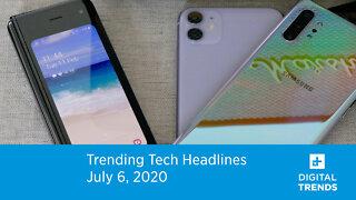 Trending Tech Headlines | 7.6.20 | Samsung Unpacked Event In August