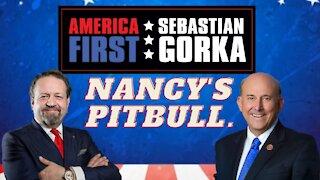 Nancy's pitbull. Congressman Louie Gohmert with Sebastian Gorka on AMERICA First